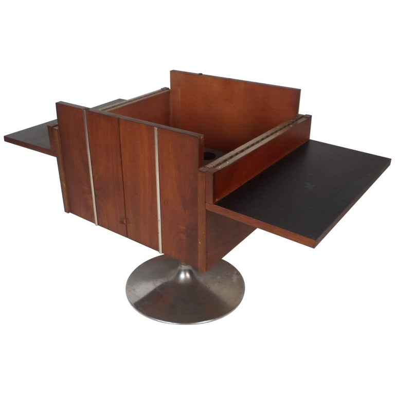 Vintage Mini Swivel Bar By Lane Furniture For Sale At 1stdibs