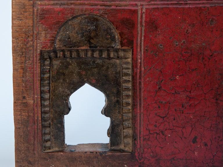 Vintage Miniature Architectural Votive Frame, Mid-20th Century, India For Sale 3