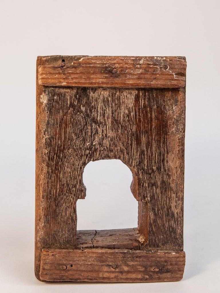 Vintage Miniature Architectural Votive Frame, Mid-20th Century, India For Sale 4