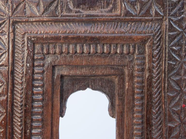 Vintage Miniature Architectural Votive Frame, Mid-20th Century, India For Sale 5