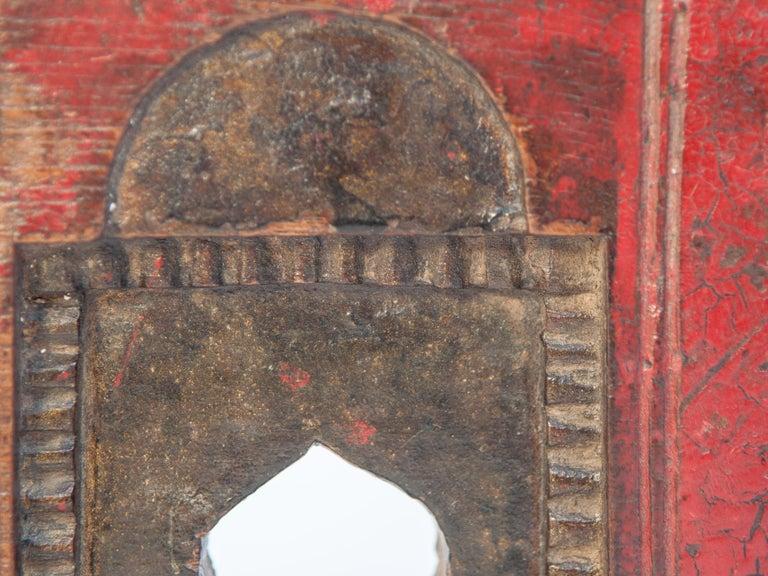 Vintage Miniature Architectural Votive Frame, Mid-20th Century, India For Sale 6