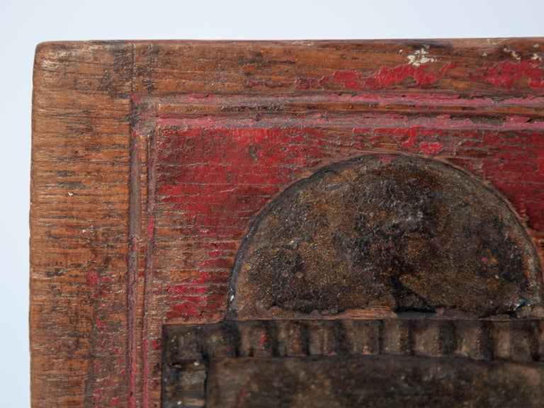 Vintage Miniature Architectural Votive Frame, Mid-20th Century, India For Sale 7