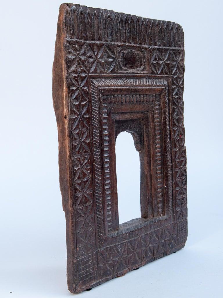 Vintage Miniature Architectural Votive Frame, Mid-20th Century, India For Sale 8