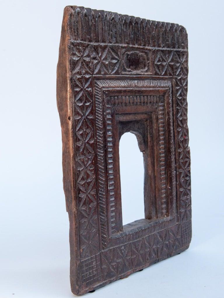 Vintage Miniature Architectural Votive Frame, Mid-20th Century, India For Sale 9