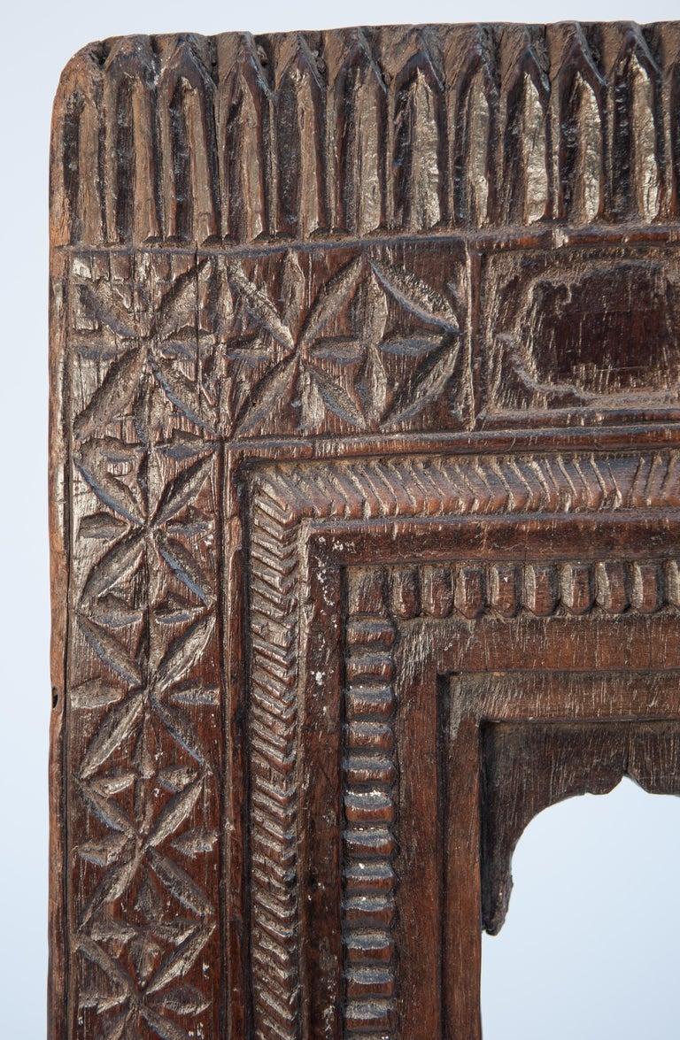 Vintage miniature architectural votive frame. 10