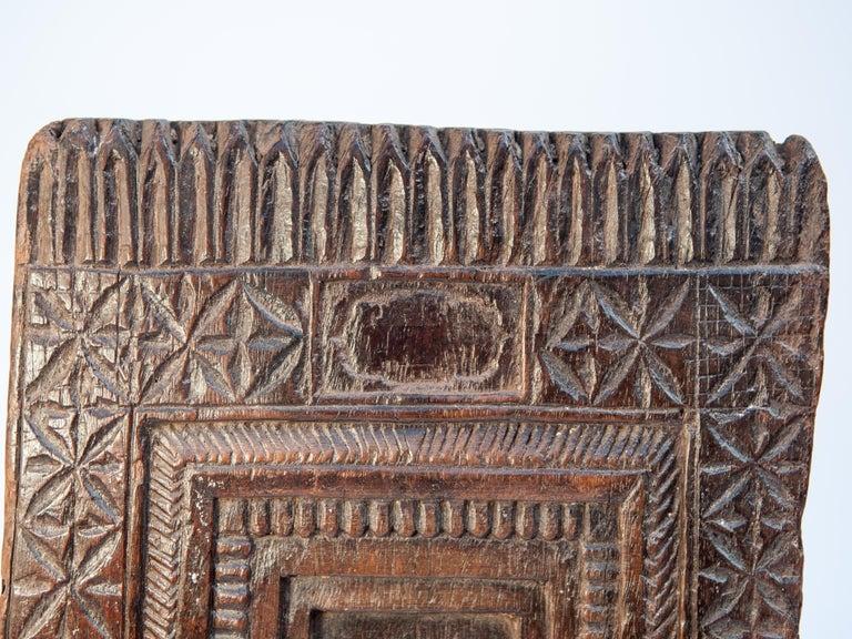 Folk Art Vintage Miniature Architectural Votive Frame, Mid-20th Century, India For Sale