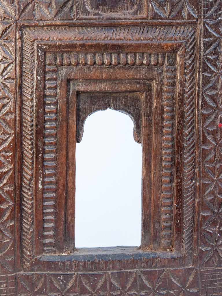 Indian Vintage Miniature Architectural Votive Frame, Mid-20th Century, India For Sale