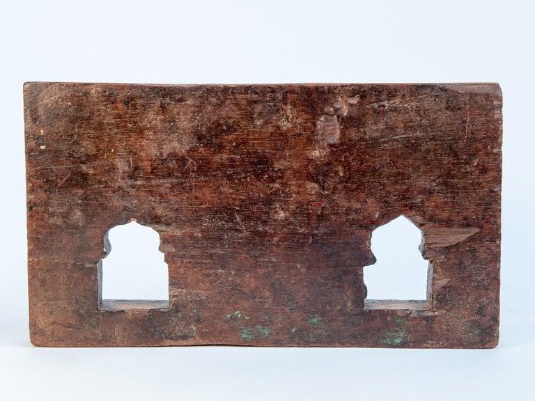 Vintage Miniature Architectural Votive Frame, Mid-20th Century, India For Sale 1