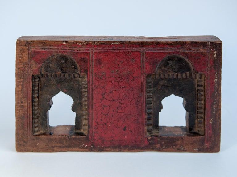 Vintage Miniature Architectural Votive Frame, Mid-20th Century, India For Sale 2
