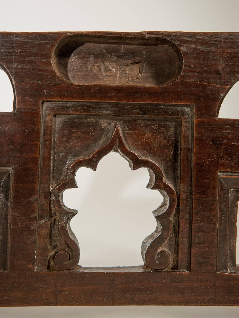 Indian Vintage Miniature Architectural Votive & Picture Frame, Mid-20th Century, India For Sale