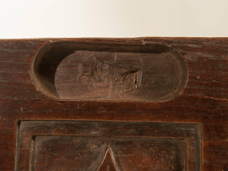 Wood Vintage Miniature Architectural Votive & Picture Frame, Mid-20th Century, India For Sale