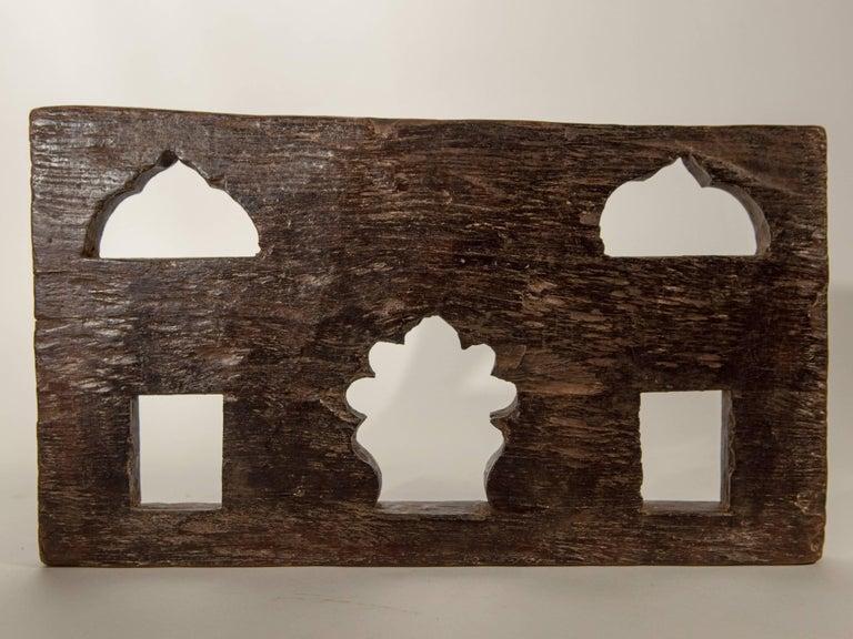 Vintage Miniature Architectural Votive & Picture Frame, Mid-20th Century, India For Sale 1