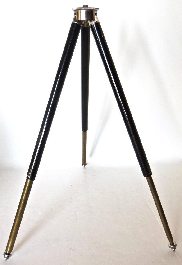 Vintage Miniature German Variable Camera Tripod 1920s with Ansel Adams Book In Good Condition For Sale In Incline Village, NV