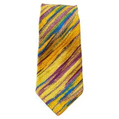 Vintage Missoni 100% silk colorful tie