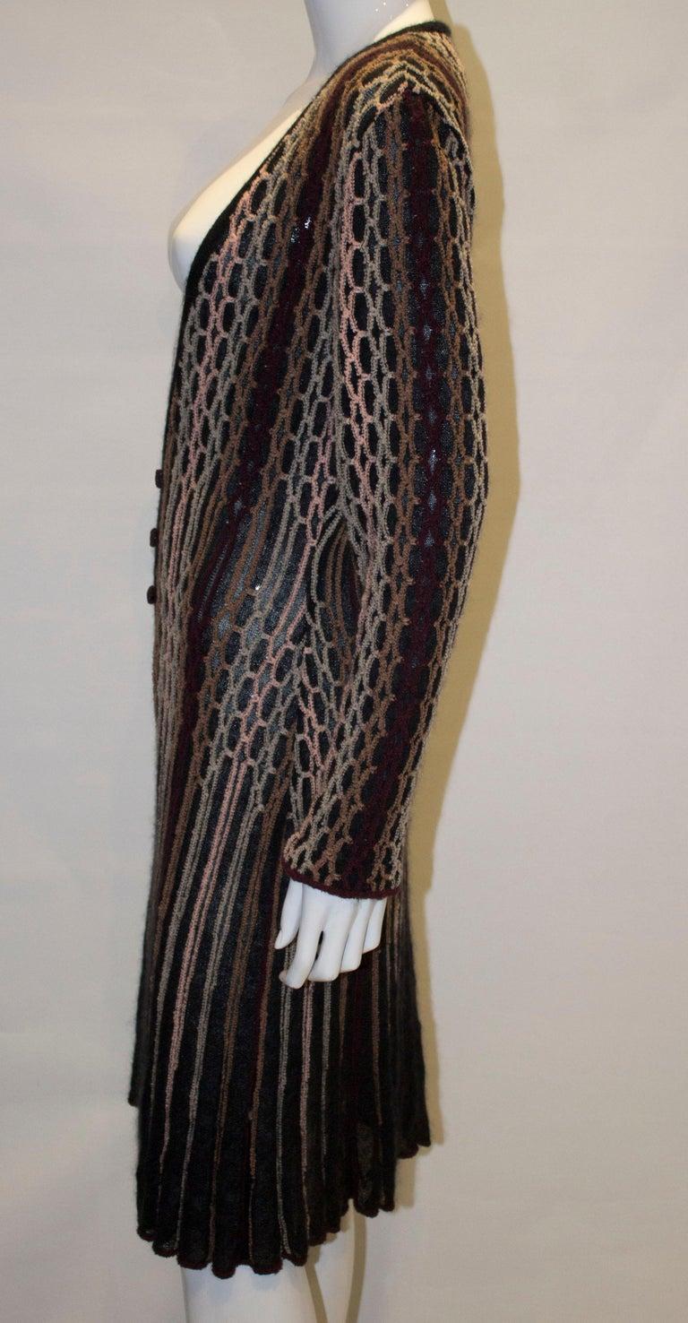 Vintage Missoni Brown Label Cardigan / Jacket  For Sale 1