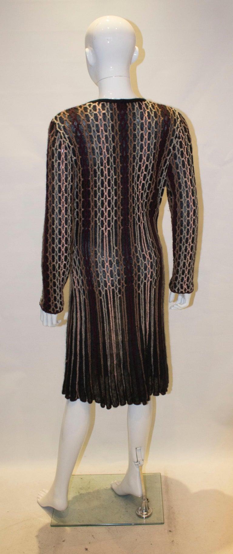 Vintage Missoni Brown Label Cardigan / Jacket  For Sale 2