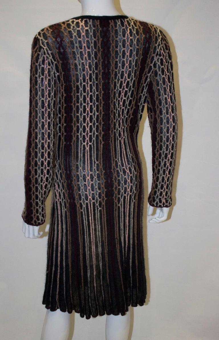 Vintage Missoni Brown Label Cardigan / Jacket  For Sale 3