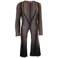 Vintage Missoni Brown Label Cardigan / Jacket