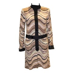 Vintage Missoni Brown Label Coat Dress