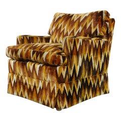 Vintage Missoni Style Zig Zag Chair by Bielefelder Werkstätten
