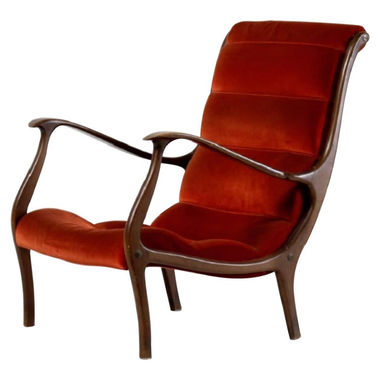 Vintage Mitzi Armchair by Ezio Longhi for Elam, 1960s For Sale