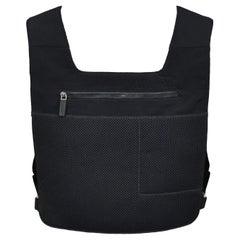 Vintage Miu Miu Black Neoprene Backpack 1999