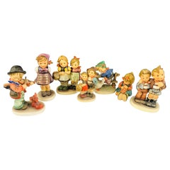 Vintage M I Hummel Goebel Original Figurines, Set of 7