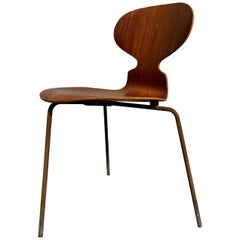 Vintage Model 3100 Teak Ant Chair by Arne Jacobsen for Fritz Han