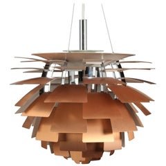 Vintage Model PH Artichoke Lamp by Poul Henningsen for Louis Poulsen, 1950s