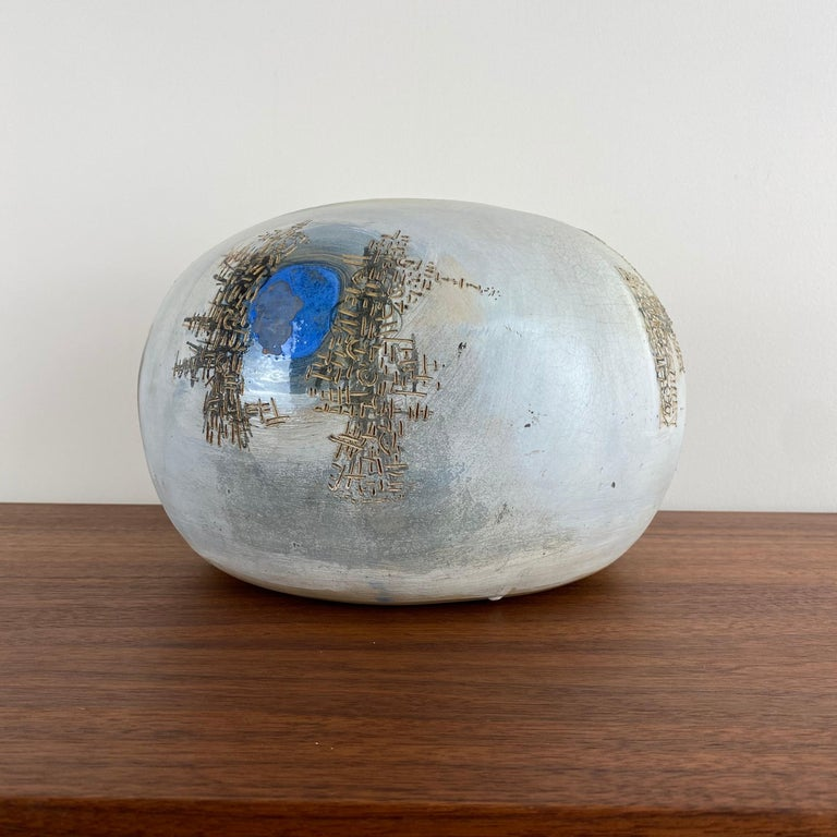 Mid-Century Modern VIntage Modern Abstract Ceramic Pottery Vase