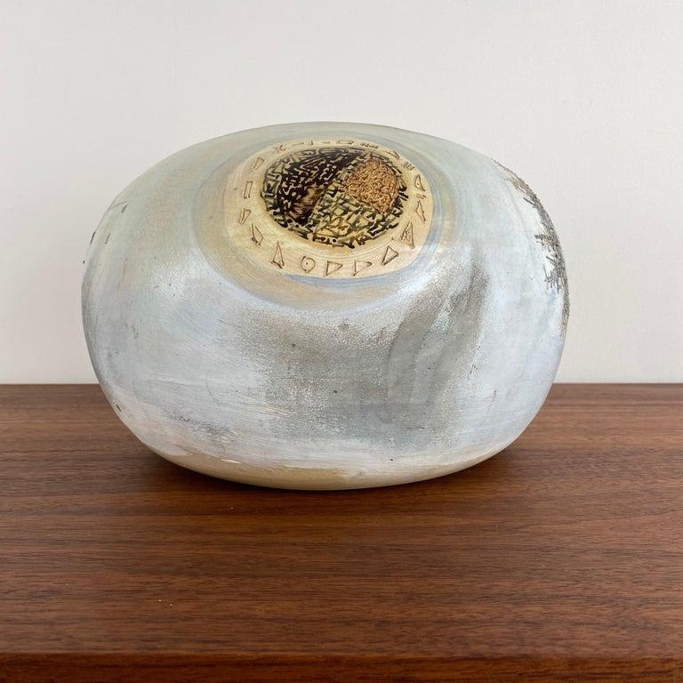 20th Century VIntage Modern Abstract Ceramic Pottery Vase