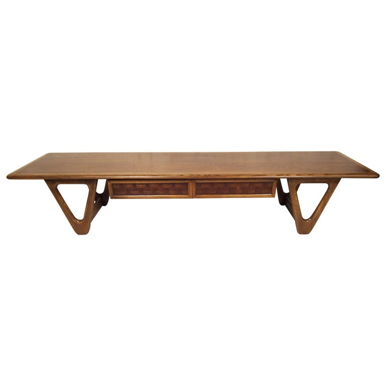 Vintage Modern Coffee Table by Lane For Sale