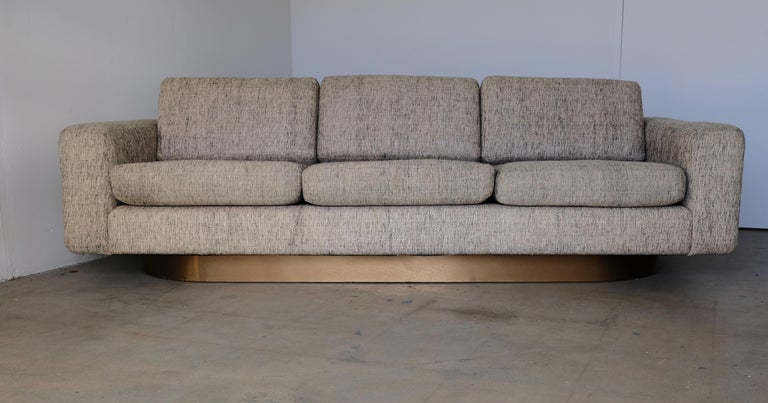Tweed Covered Sofas