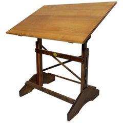 Vintage Modern Drafting Table