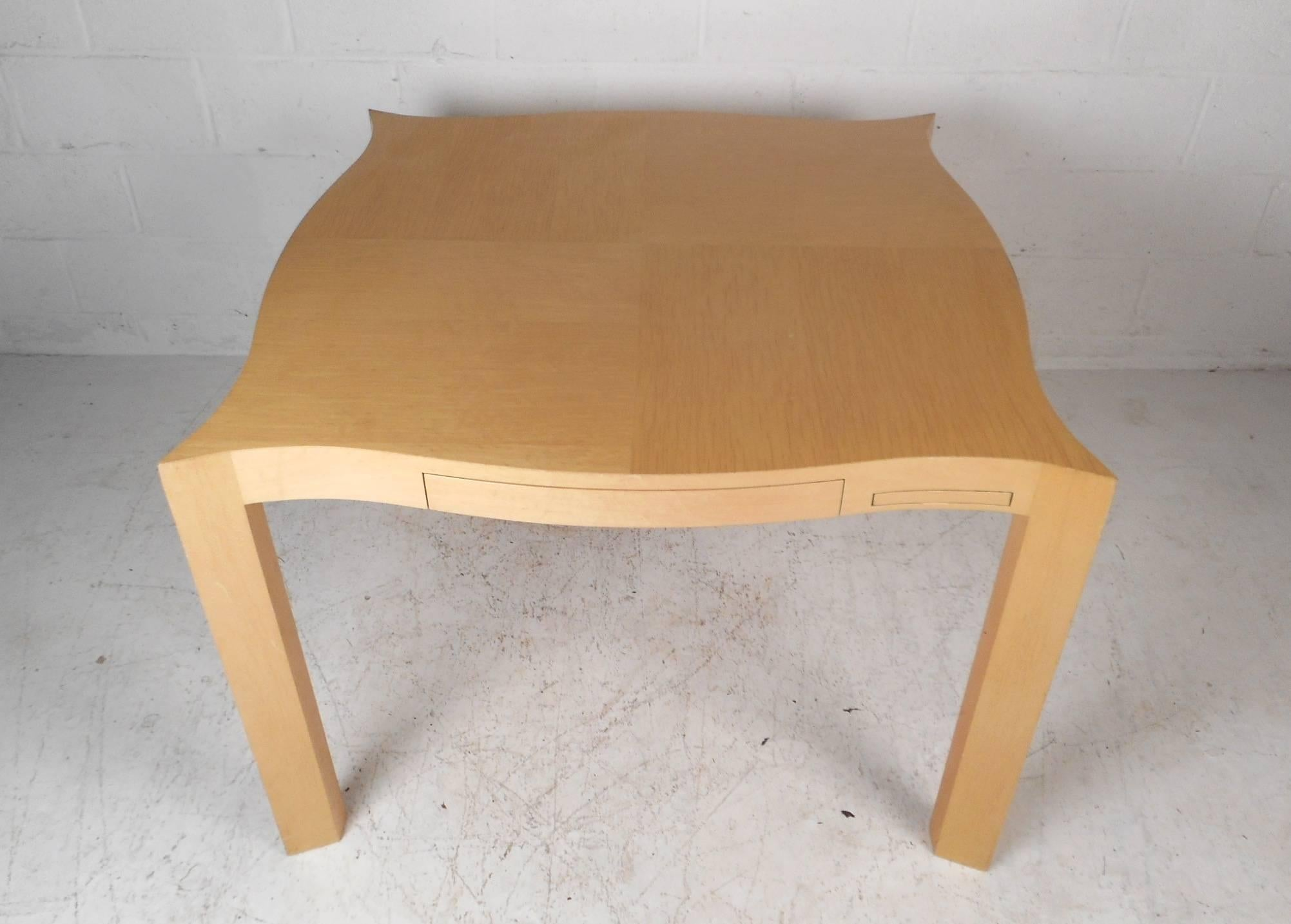 Nice Four In One Game Table #25 - This Amazing Mid-Century Modern Set Includes One Game Table And Four  Chairs. A
