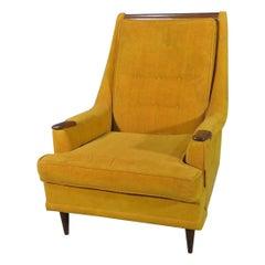 Vintage Modern High Back Lounge Chair