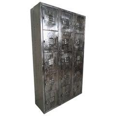 Vintage Modern Industrial Storage Locker