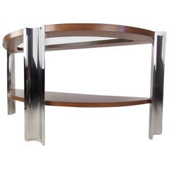 Vintage Modern Italian Console Table by Excelsior