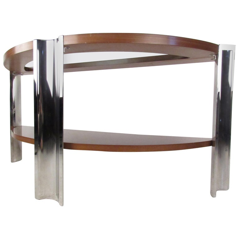 Vintage Modern Italian Console Table By Excelsior For