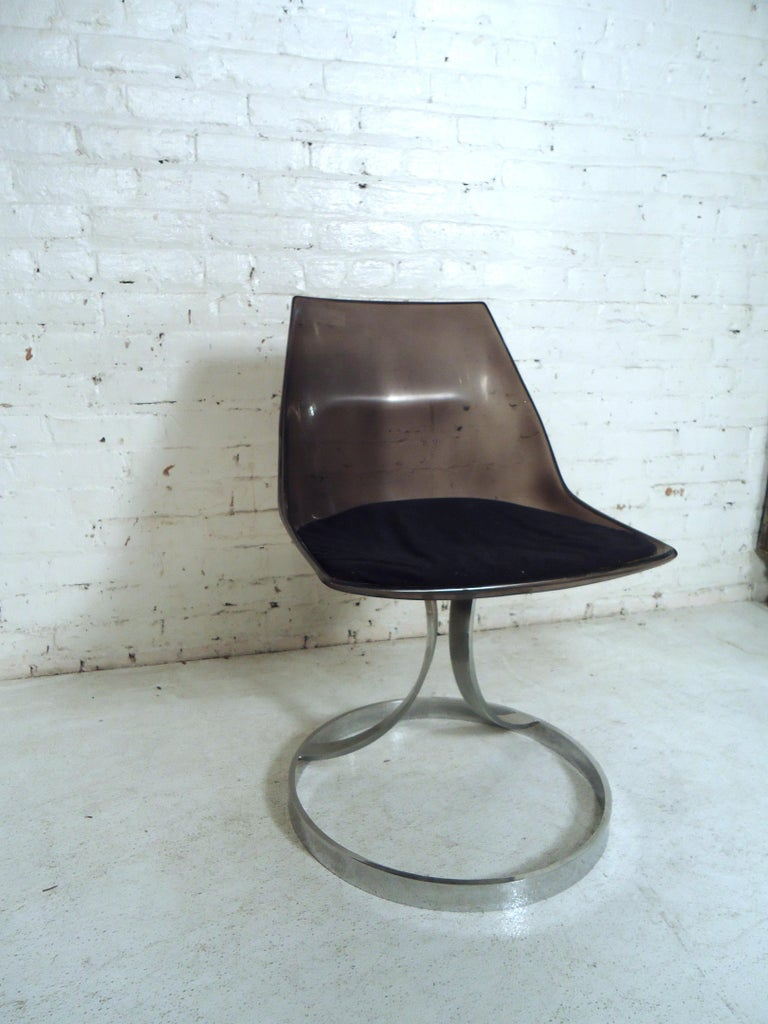 Mid-20th Century Vintage Modern Italian Lucite Chair For Sale