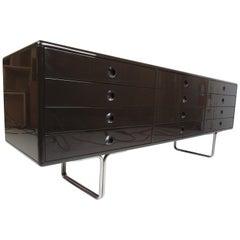 Vintage Modern Italian Twelve-Drawer Dresser