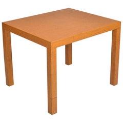 Vintage Modern Karl Springer Attributed Rattan Table