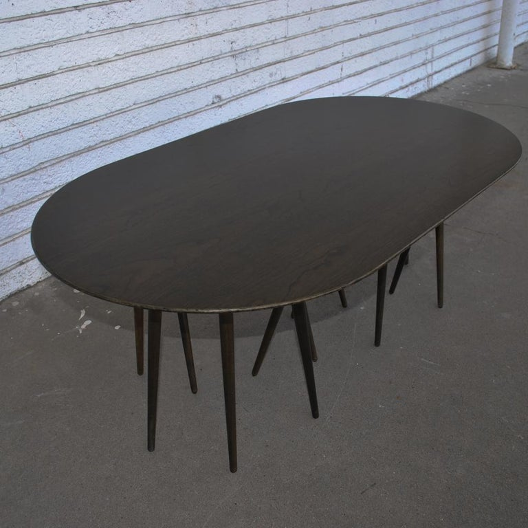 North American Vintage Modern Knoll Lawrence Laske Toothpick Cactus Table For Sale