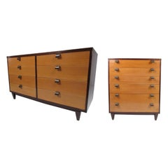 Vintage Modern Mahogany Bedroom Set