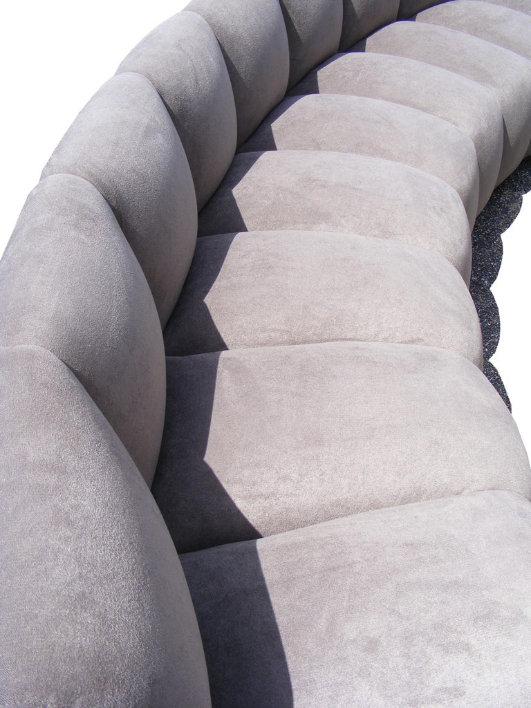 Vintage Modern Monumental Non Stop Steve Chase Sectional Sofa For Sale 3