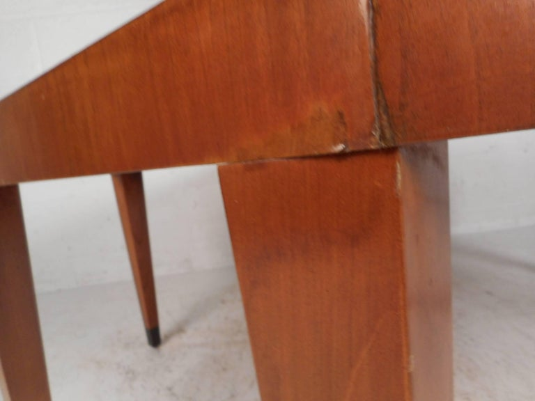 Vintage Modern Octagonal Coffee Table By Baker Furniture