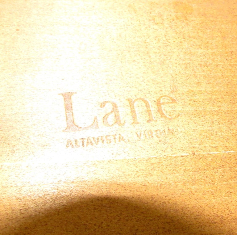 Vintage Modern Round Side Table by Lane 6