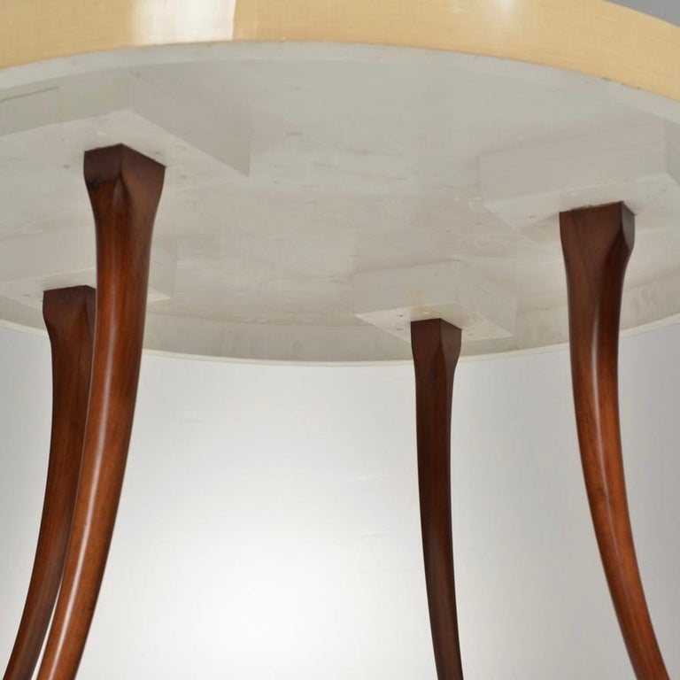 20th Century Vintage Modern Round Table For Sale