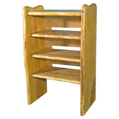 Vintage Modern Small Bookcase