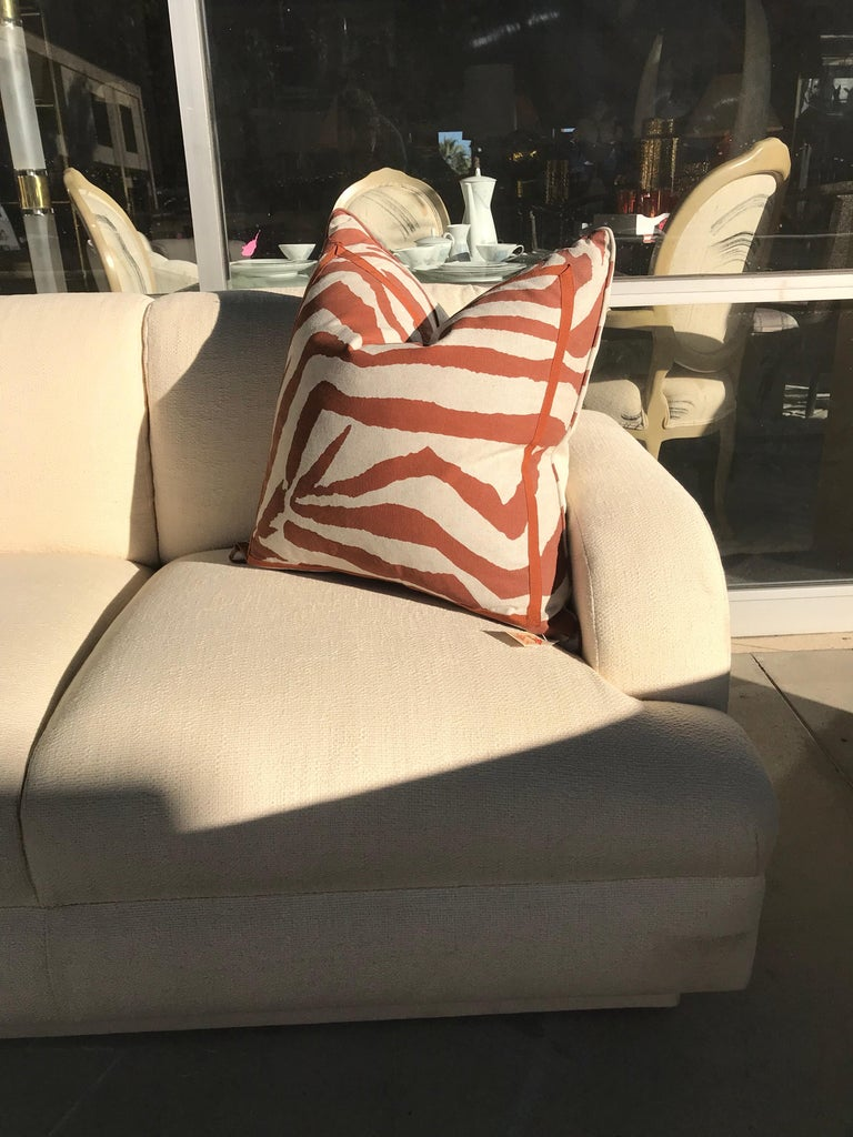 Vintage Modern Steve Chase Sofa Made By A Rudin For Sale